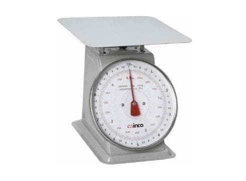 Winco Receiving Scale - 10 Lbs Capacity - Omni Food Equipment