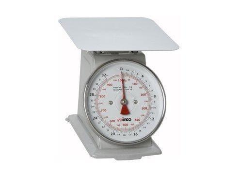 Winco Receiving Scale - 2 Lbs Capacity - Omni Food Equipment