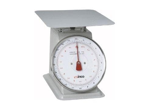 Winco Receiving Scale - 20 Lbs Capacity - Omni Food Equipment