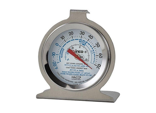 Winco Refrigerator/Freezer Thermometer - Various Sizes - Omni Food Equipment