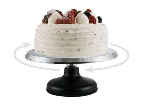 Winco Revolving Cake Decorating Stand - Omni Food Equipment