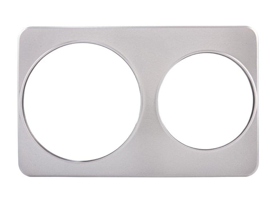 Winco Stainless Steel Adapter Plate For Soup Inserts - Various Sizes - Omni Food Equipment