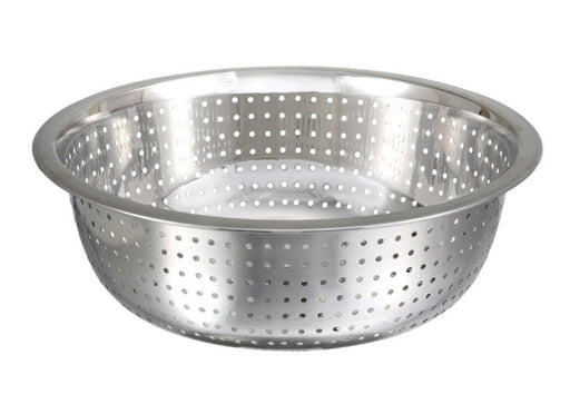 Winco Stainless Steel Chinese Style Colanders - Omni Food Equipment
