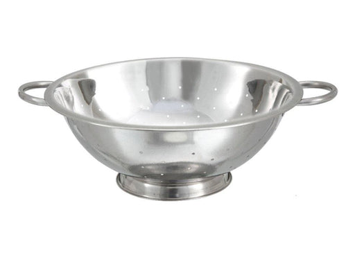 Winco Stainless Steel Colander - Various Sizes - Omni Food Equipment
