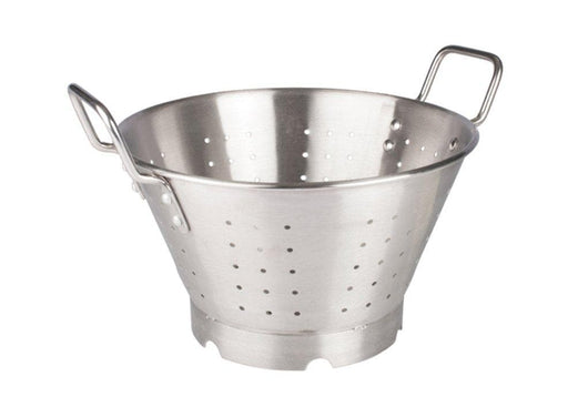 Winco Stainless Steel Colander With Handles And Base - Omni Food Equipment