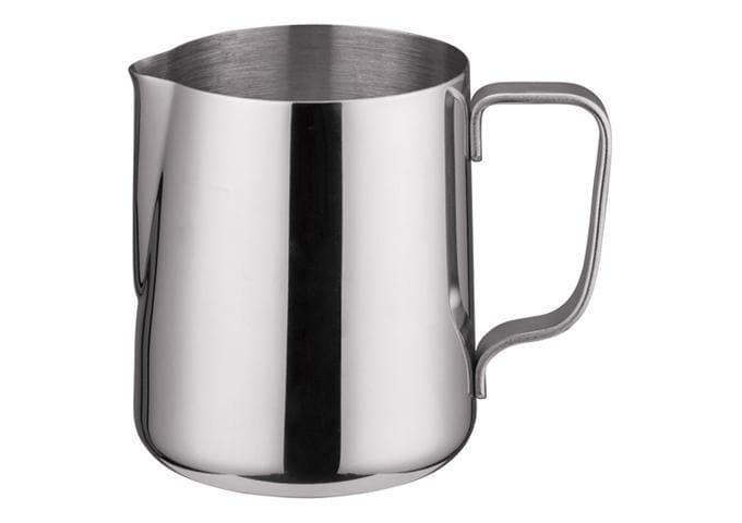 Winco Stainless Steel Frothing Pitcher - Various Sizes - Omni Food Equipment