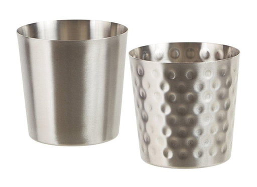 Winco Stainless Steel Fry Cup - Various Finishes - Omni Food Equipment