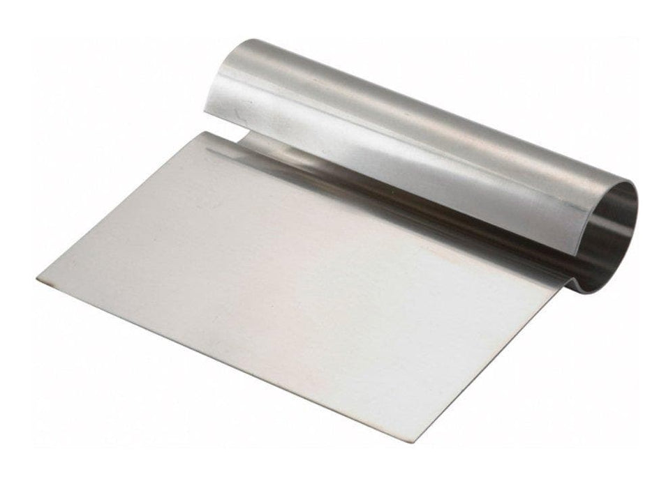 Winco Stainless Steel Scraper With Handle - Omni Food Equipment