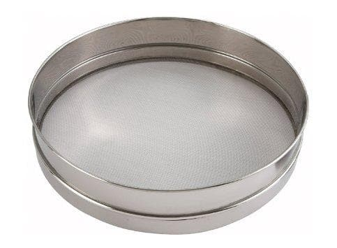 Winco Stainless Steel Sieve - Various Sizes - Omni Food Equipment