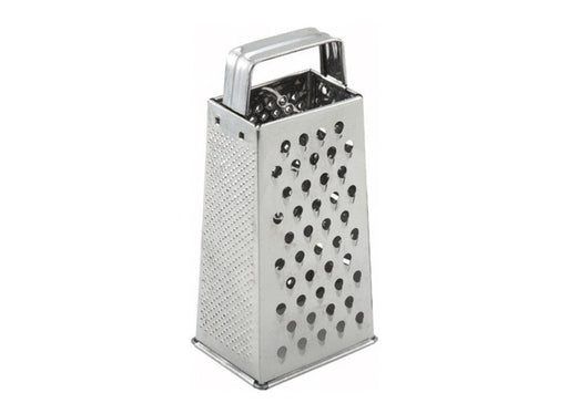 Winco Stainless Steel Tapered Box Grater - Omni Food Equipment