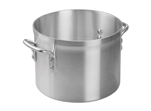 Winco Super Aluminum 4 mm Stock Pot - Various Sizes - Omni Food Equipment