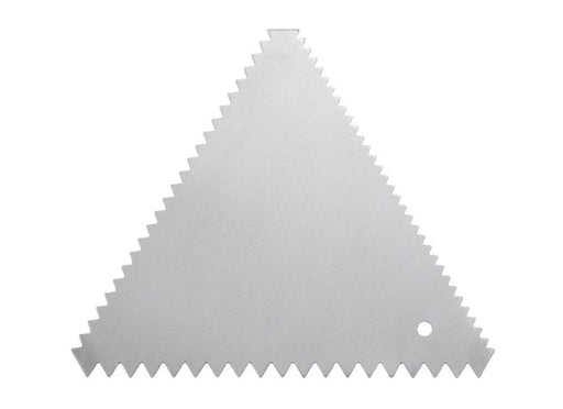 Winco Triangle Cake Decorating Combs (Pack of 6) - Omni Food Equipment