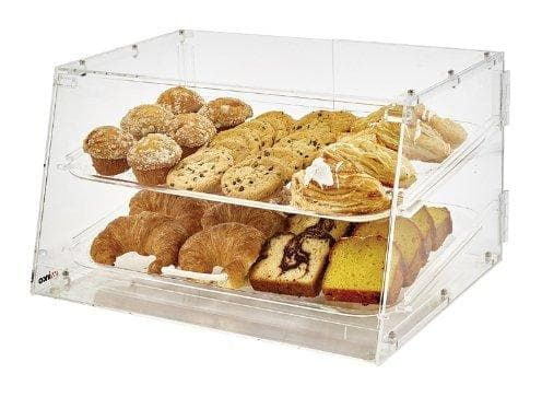 Winco Two Tier Acrylic Display Case - Omni Food Equipment