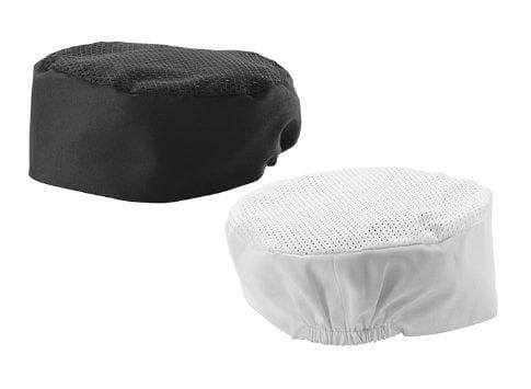 Winco Ventilated Pillbox Hat - Various Sizes/Colours - Omni Food Equipment