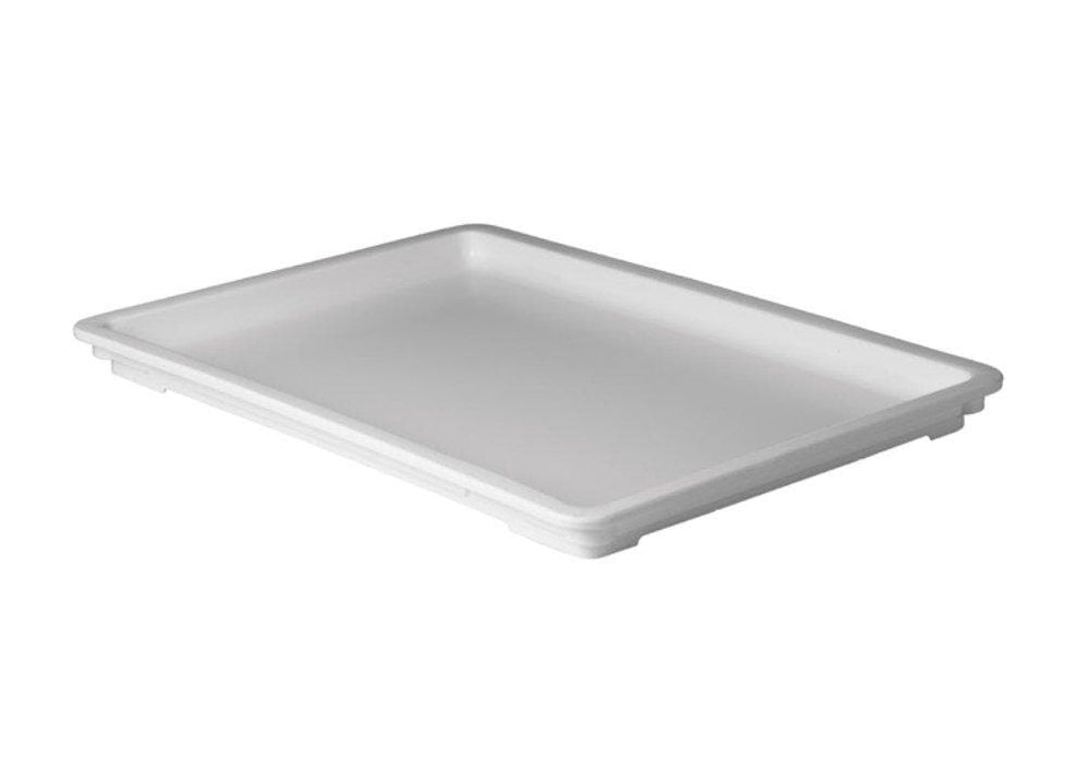 Winco White Polypropylene Dough Box Cover - Omni Food Equipment