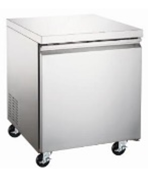 Canco WTR-27 Undercounter Stainless Steel Refrigerator