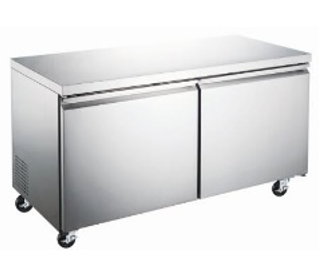 Canco WTR-60 Undercounter Double Doors Stainless Steel Refrigerator