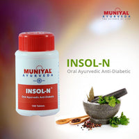 INSOL-N is an ​Oral Ayurvedic Anti diabetic drugs