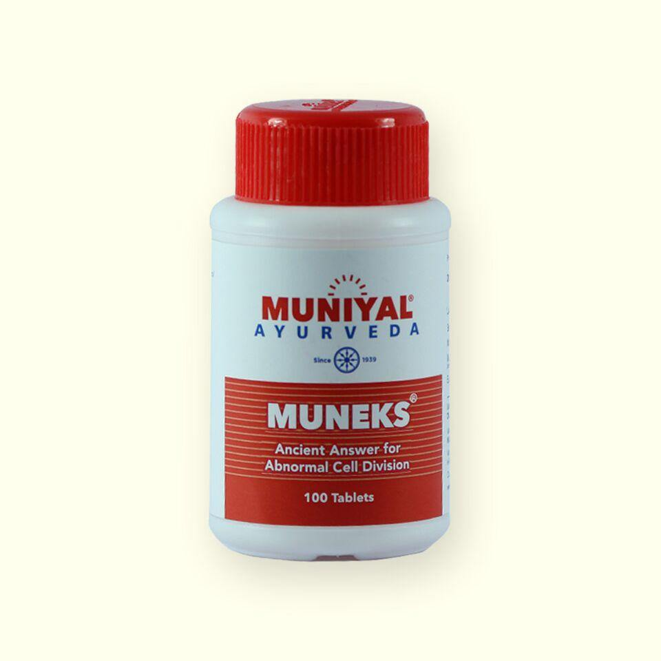 MUNEKS a ancient answer for abnormal cell division cancer