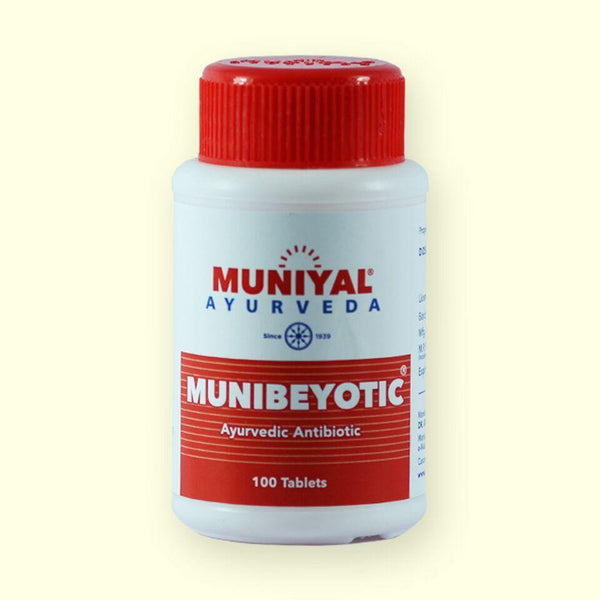 MUNIBEYOTIC is an supportive therapy in antibiotic resistance