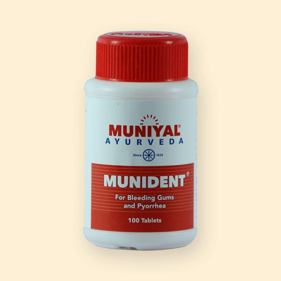 MUNIDENT Keeps Mouth Fresh throughout the Day and Gingivitis cure