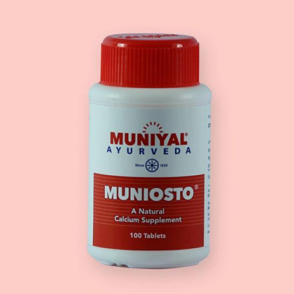 MUNIOSTO Prevents bone degeneration
