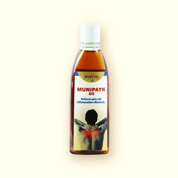 MUNIPAYN OIL Relieves Pain and Inflammation