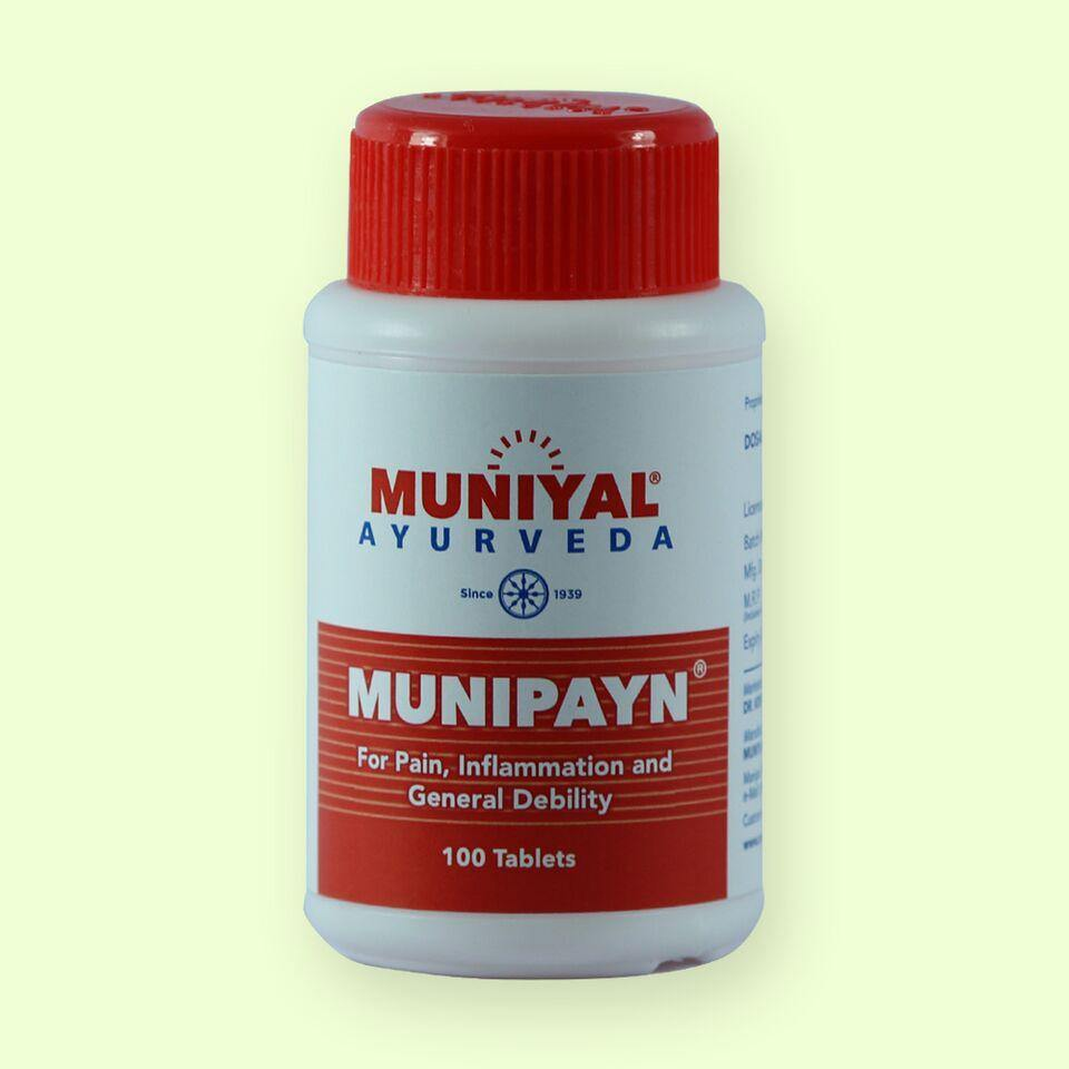 MUNIPAYN A effective remedy for rheumatism and arthritis