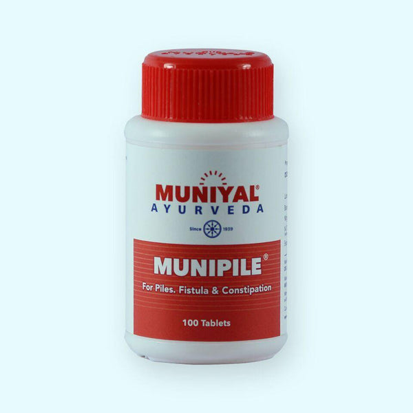 MUNIPILE improves digestion naturally  heals fistula, hemorrhoids