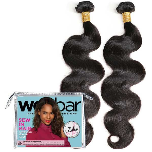 2pc Weave Bundle DEAL - LAUREN Body Wave