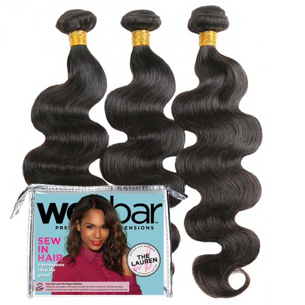 For Licensed Pros Only - LAUREN Body Wave Sew In Bundles