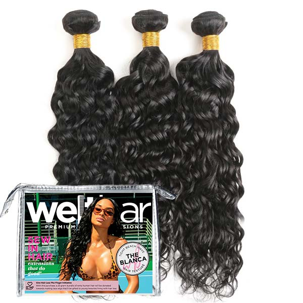 3pc Weave Bundle DEAL - BLANCA Tight Beach Wave