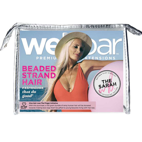 Blonde Micro Bead Strands - SARAH Silky Straight