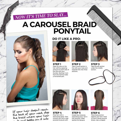 Carousel Braid Pony