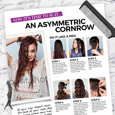 Asymmetric Cornrow