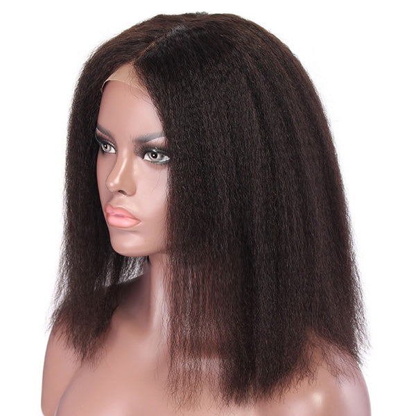 Lace Front Wig - OLIVIA Kinky Straight