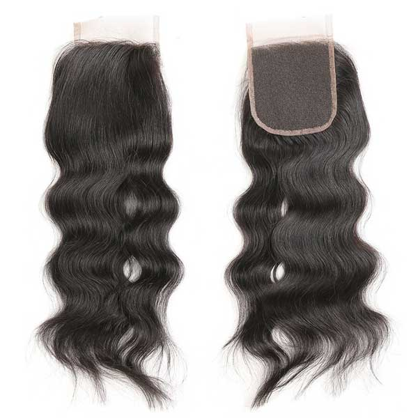4x4 Lace Closure - JAIMIE Silky Beach Wave