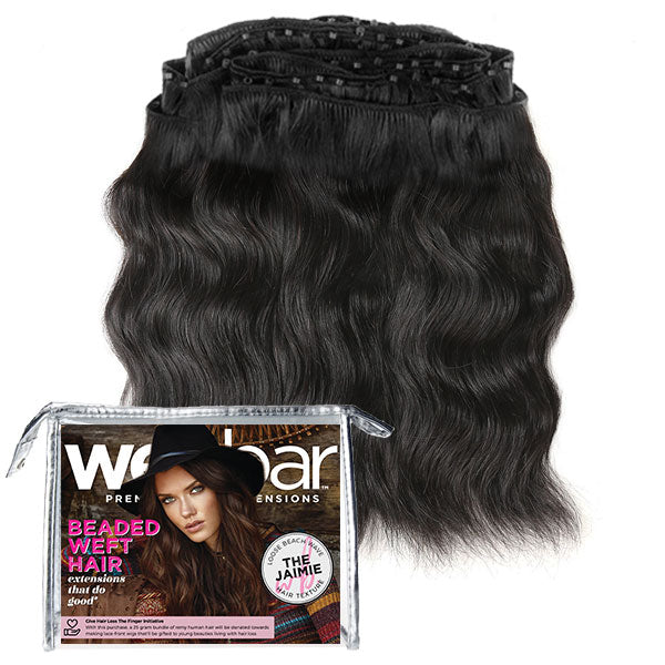Micro Bead Weave Hair Extensions - JAIMIE Loose Beach Wave
