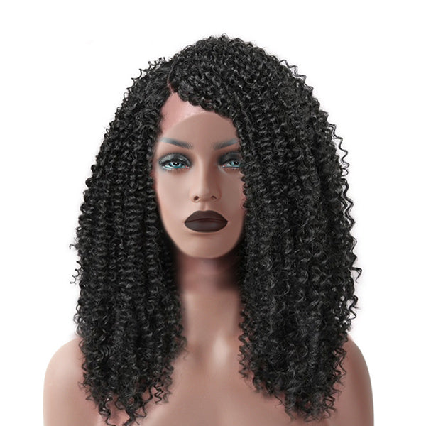 The MALLY - RTW Lace Front Wig - Kinky Curly