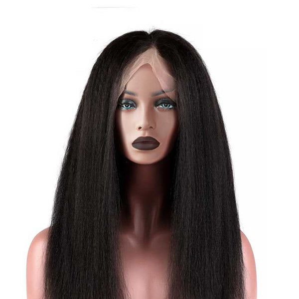The BRITT - RTW Lace Front Wig - Kinky Relaxed Straight