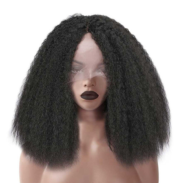 The PAZ - RTW Lace Front Wig - Kinky Straight