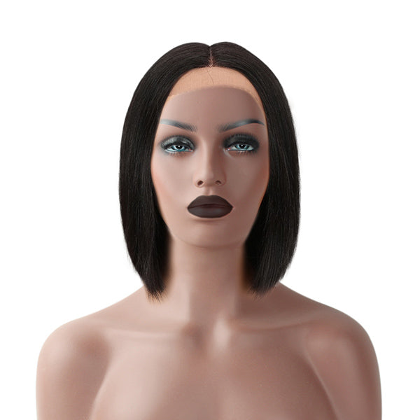 The PASHA - RTW 4x4 Lace Front Bob Wig - Silky Straight