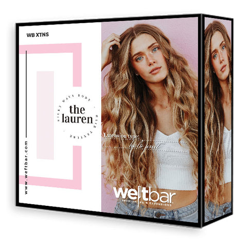 Bridal Halo Unit - LAUREN Body Wave