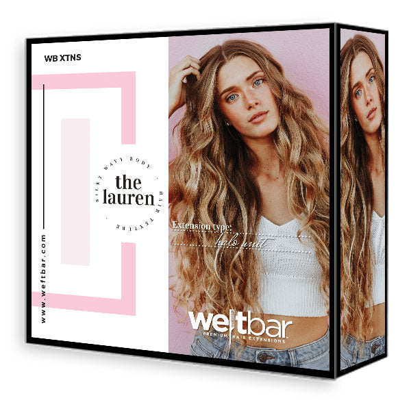LAUREN Silky Body Halo Extensions