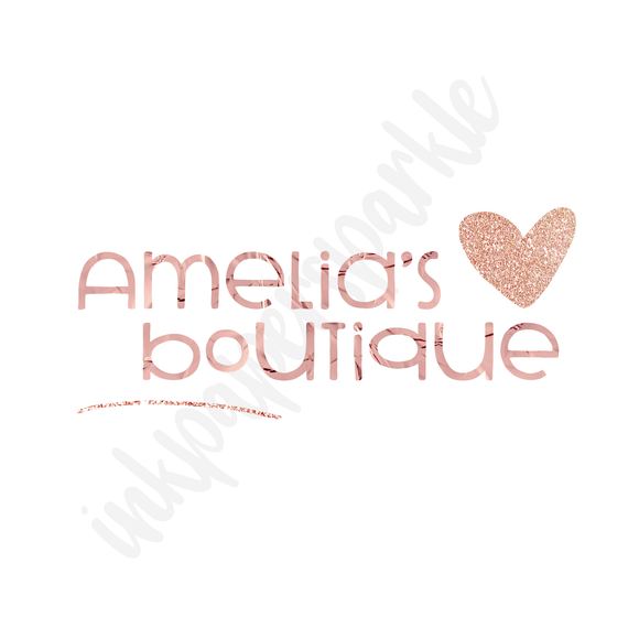 Ready Made Logo - Amelia's Boutique