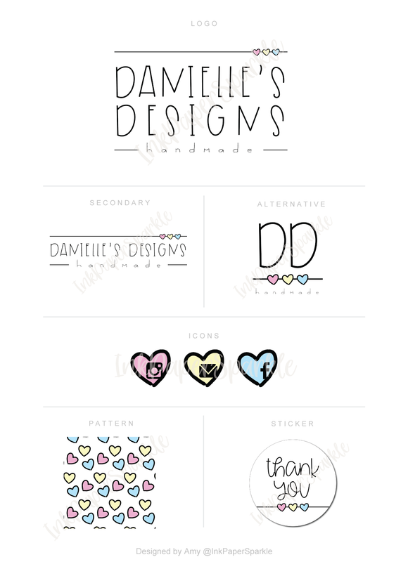 Branding Package - Danielle's Designs