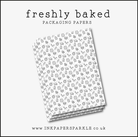 Freshly Baked Packaging Paper - Translucent