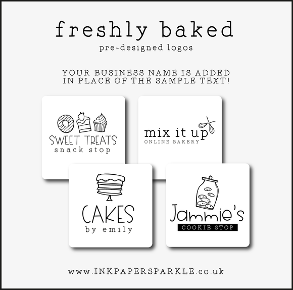 Ready Made Logos - Freshly Baked