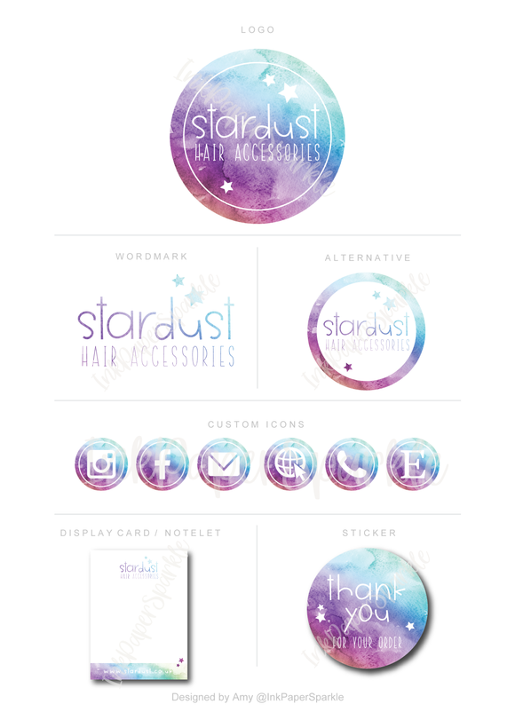Branding Package - Stardust Hair Accessories
