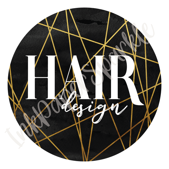 Ready Made Logo - Hair Design